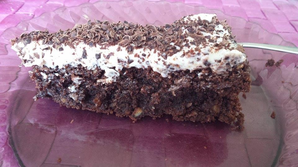 Americký chocolate cake (Brownies)