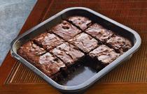 Čokoládový zákusok na spôsob brownies