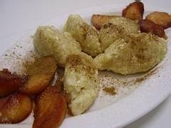 Jablkové halušky