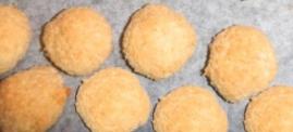 Pečené kokosové koláčiky