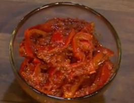 Paprikovo-paradajková nátierka