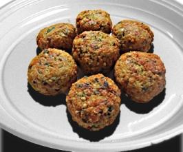 Falafel (cícerové fašírky)