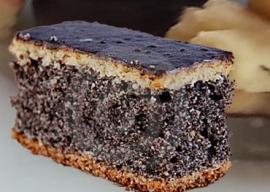 Víkendový makový koláčik