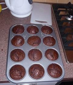 Čokoládové mafiny