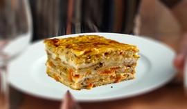 Cuketové lasagne s baklažánom (bez cestovín)