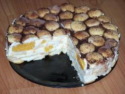 Tvarohová torta s pudingom