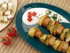 Ražniči s tofu