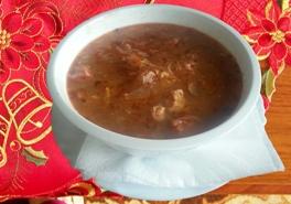 Vianočná kapustová polievka